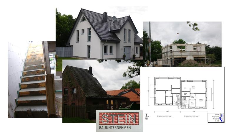Bauunternehmen Stein Angebot
